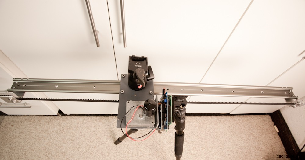 Diy motorized camera slider clickglide Motorized video slider