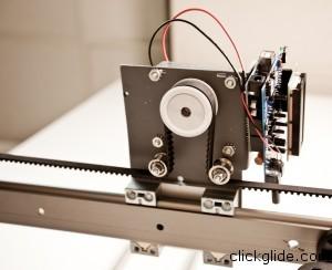 Diy motorized camera slider clickglide for Motorized camera slider timelapse